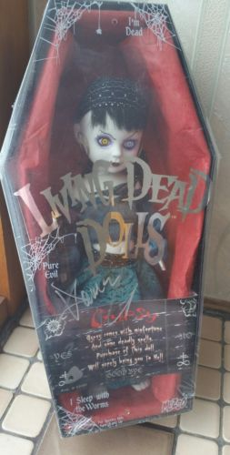 Living dead dolls Gypsy signed by Damien Glonek NIB sealed Series 15 zombie goth