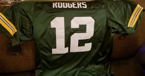 NIKE Aaron Rodgers GREEN BAY PACKERS NFL LIMITED Stitched Jersey Nike 2XL