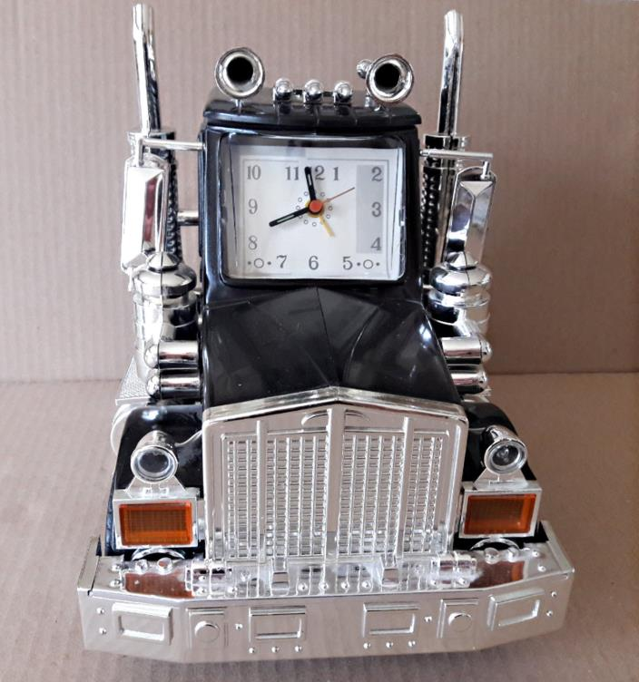 Semi Truck Talking  Alarm Clock Vintage Trucking Sounds & Lights