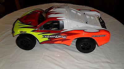losi scte2.0 short course truck tekin speed control custom painted body