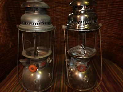 TWO VINTAGE AIDA EXPRESS KEROSENE LANTERN (Made in Germany)
