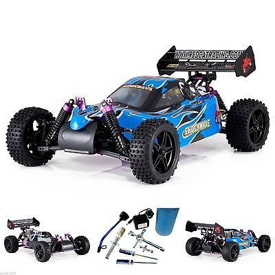 1/10 Remote Control Racing Nitro Powered RC Buggy Kid's Car Toy Fuel Starter Kit