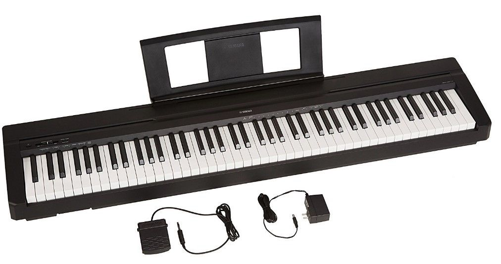 Digital Piano 88 Key Weighted Action Sustain Electronic Keyboard Stand Electric