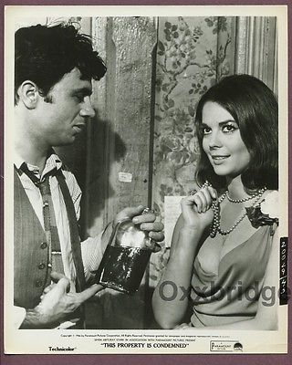 Natalie Wood & Robert Blake This Property Is Condemened Original 1966 Photo