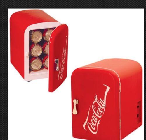 Coca Cola  Koolatron KWC Personal 6-Can Mini Fridge