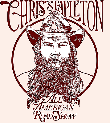 Chris Stapleton 2 tickets section 205a Row V seats 9 & 10 Columbus GA