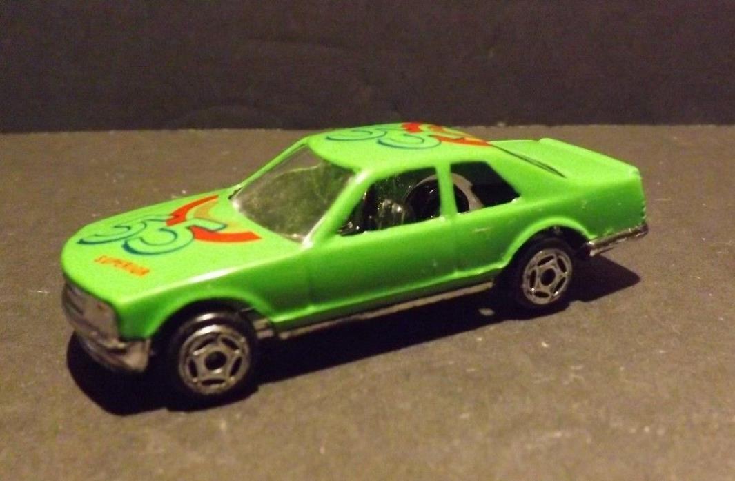Green Race Car #55