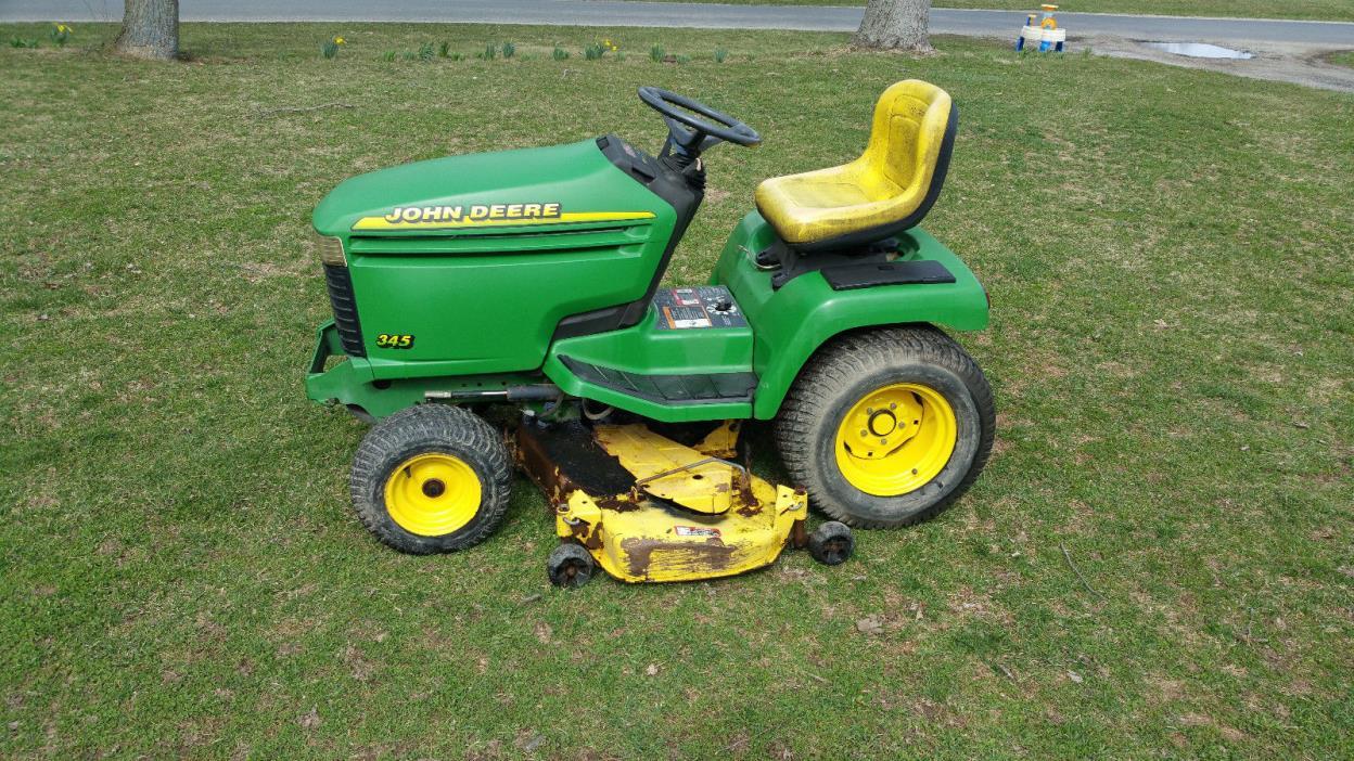 Custom Lawn Tractor Hood : John deere lawn mower for sale classifieds
