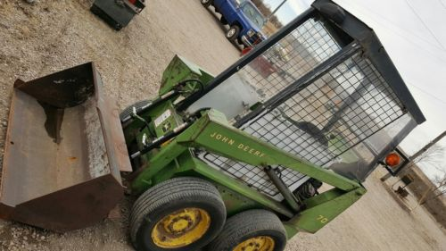 John Deere 70 Skid Steer loader 24hp Honda