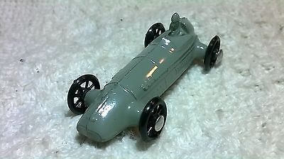 Vintage Mini Lead Slush Metal Racer Toy Car