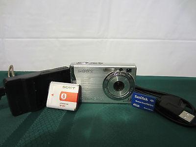 Sony Cyber-shot DSC-W80 7.2 MP Digital Camera - READY TO USE