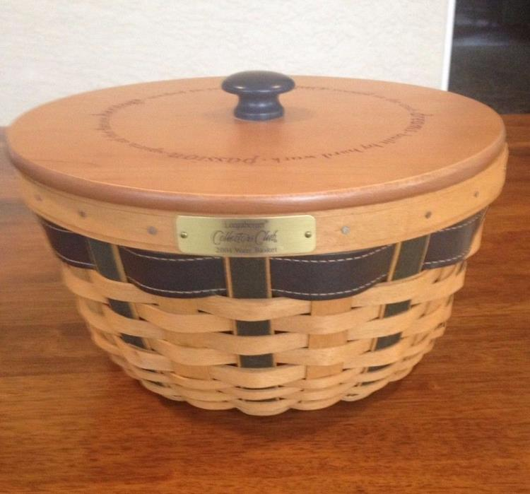 Longaberger Collectors Club 2004 Ware Basket