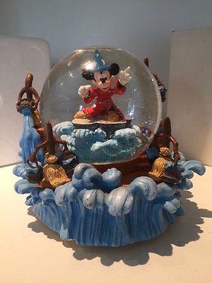 Disney Fantasia Mickey Mouse Snow Globe