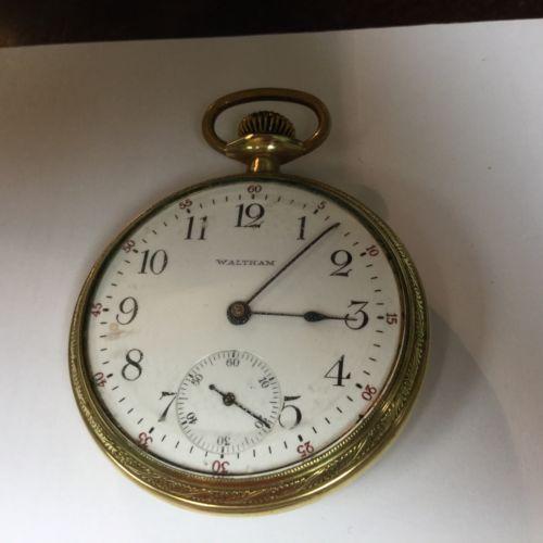 Waltham Pocket Watch 17 Jewel  Running