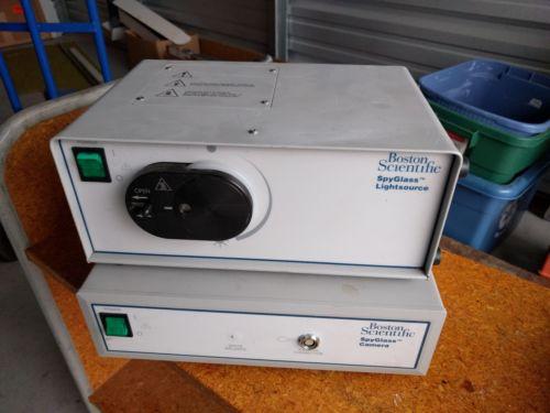 Boston Scientific SpyGlass Lightsource and Camera 4619 / 4610 Endoscopy