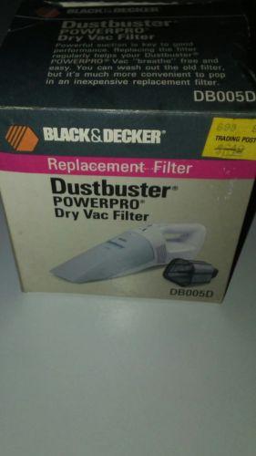 Black & Decker Replacement Filter DB005D