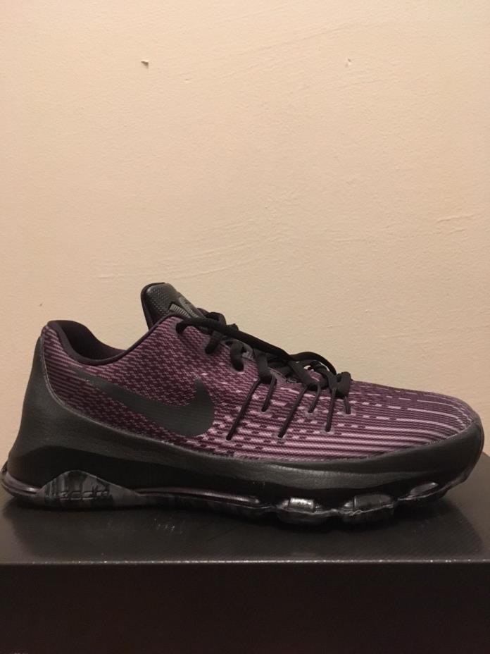 Nike KD 8 blackout size 7 men's basketball shoes