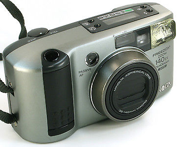 Minolta Freedom Zoom 140EX 35mm Film Camera with Date & Panorama  S/N 61712988