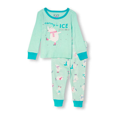 The Children's Place Pajamas Pjs size 9-12 months Ice Princess NWT
