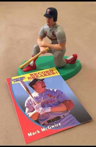 Mark McGwire 1998 Edition Starting Lineup Figure Home Run History Cardinals