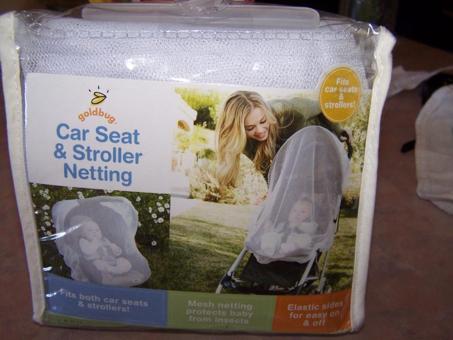 Goldbug Car Seat Stroller Infant Carrier Netting