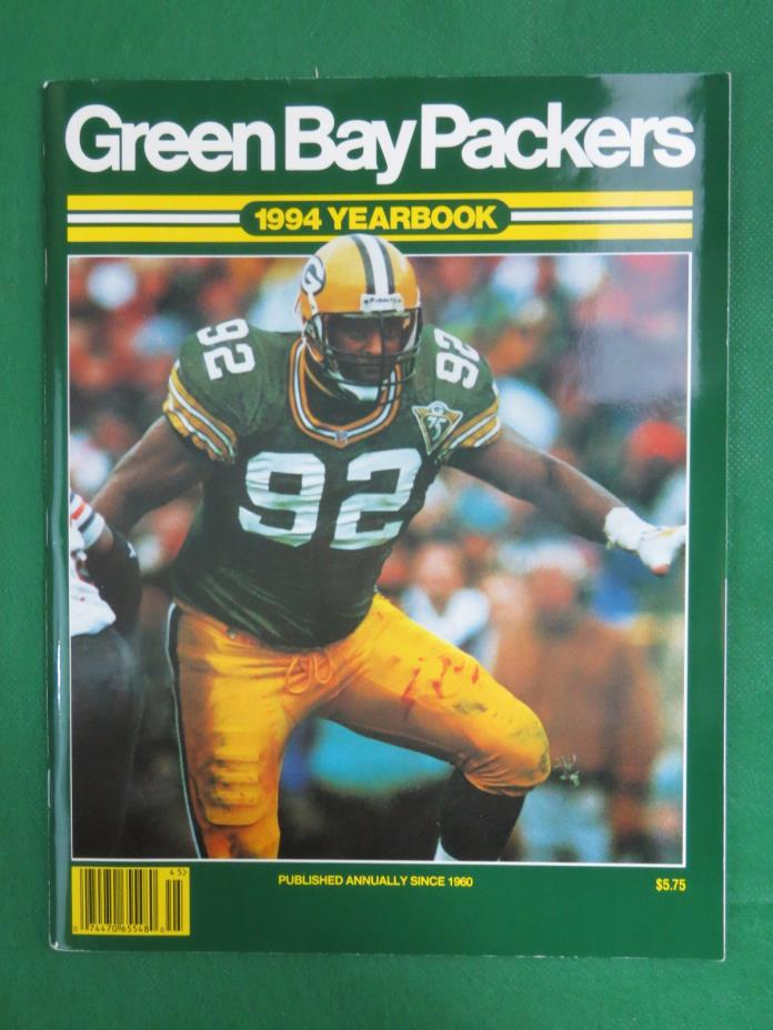 GREEN BAY PACKERS 1994 YEARBOOK