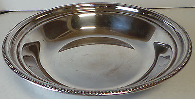 Towle Silverplate Double Beaded 10