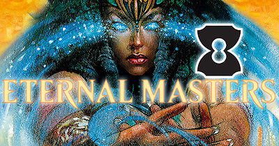 MTG 2x Sealed Eternal Masters Boxes 1/2 Case 48 Packs Mint Condition