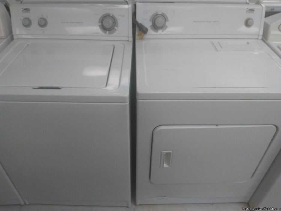Estate Washer and Dryer (GAS or ELECTRIC)