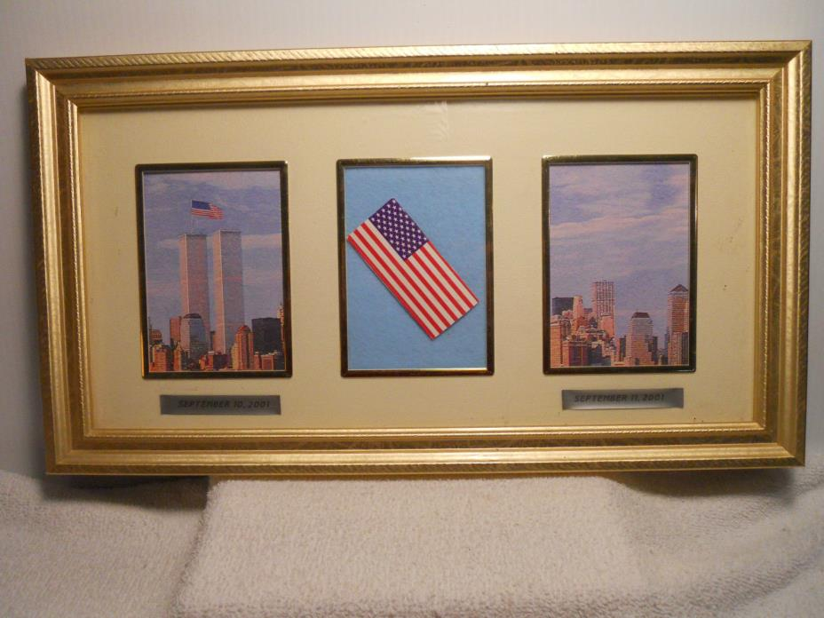 Collectible Framed New York City September 11th Tribute