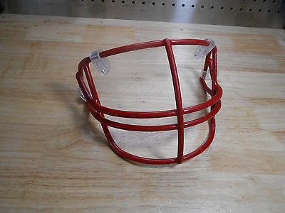 Red Schutt Football Helmet Facemask