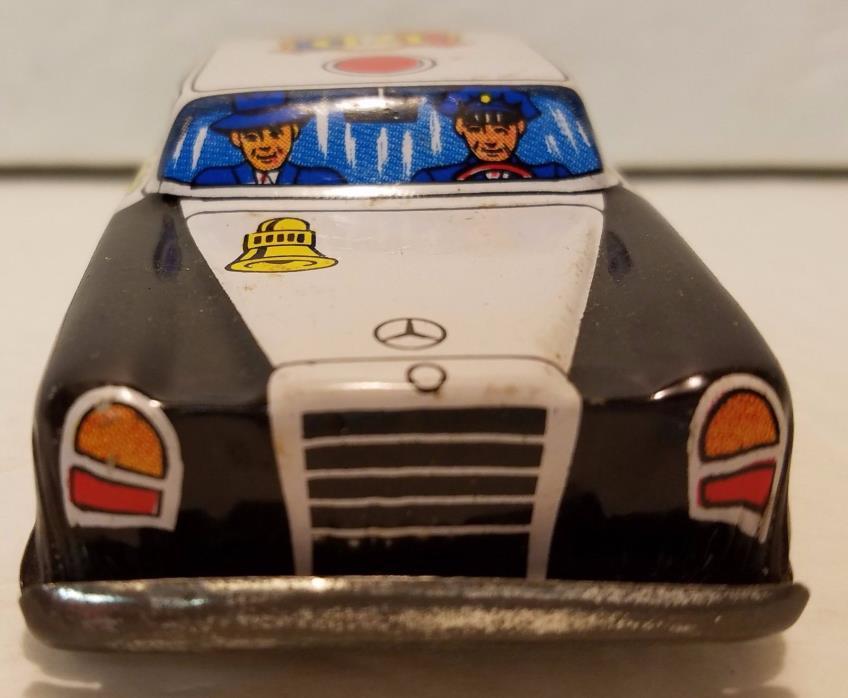 Vintage Mercedes Police Car Japanese