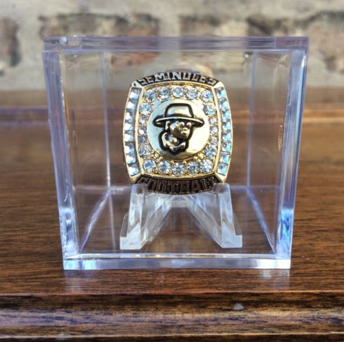 EXTREMELY RARE 2010 Florida State Seminoles Championship Ring Replica Football