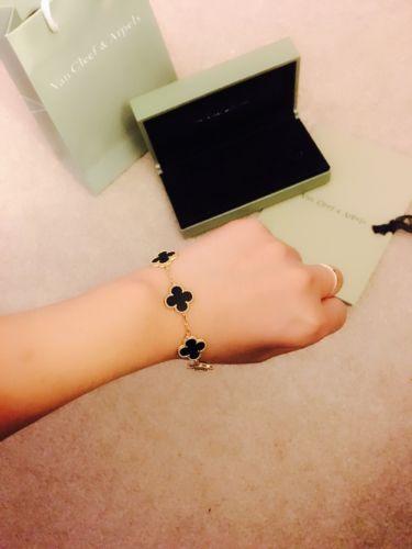 Van Cleef 18k Gold Bracelet