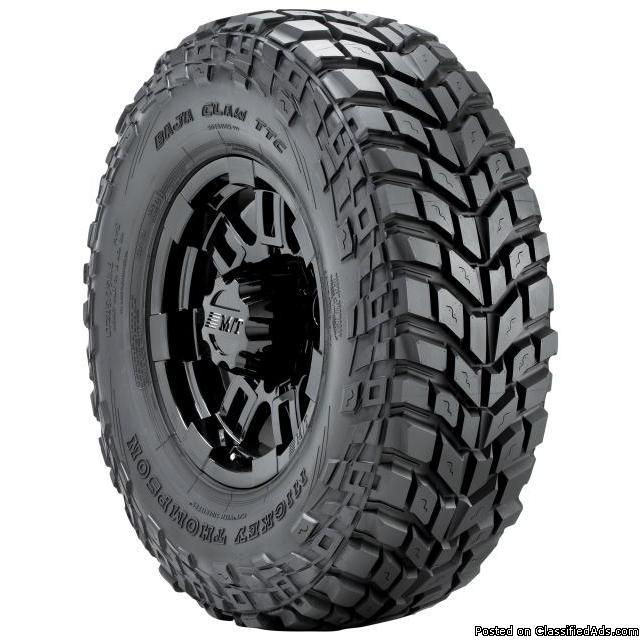 MT Baja Claw TTC Radial tire set of 4 - $1375 (Atlanta)