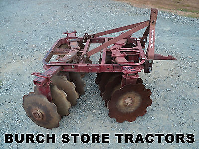 OFFICIAL IH Farmall 1 pt / Point Fast Hitch DISC HARROW ~ 140 130 Super A 100