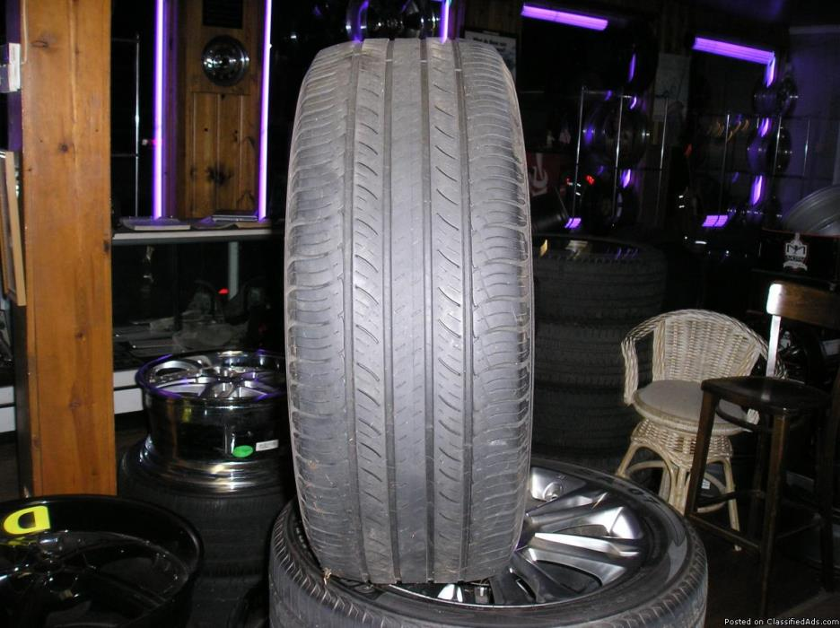 4 4 255-55-18 Michelin tires