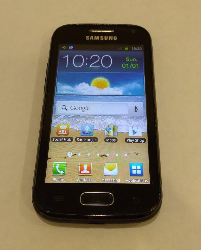 Samsung Galaxy Ace 2 GT-I8160 Android Onyx Black (Unlocked, C Stock) Smartphone
