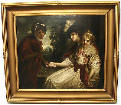 Karl Stuhlmuller Listed German artist (The Fortuneteller) Late 19th Century O/C