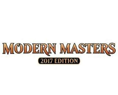 MTG Magic the Gathering Modern Masters 2017 COMPLETE SET with MYTHICS X1