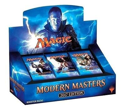 MTG Magic the Gathering Modern Masters 2017 Sealed English 4 Booster Box Case