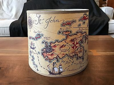Pottery Barn Kids Pirate Map Lamp Shade