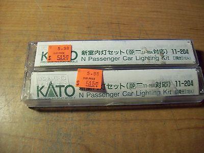 Kato N Scale Passenger Car Lighting Kit #11-204