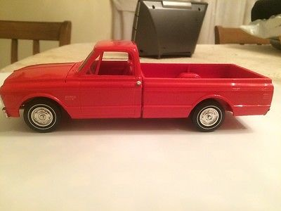 1972 chevy pickup truck promo red