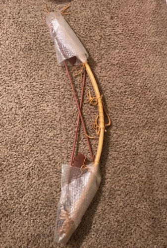Hand crafted Bow & Arrow Native American Decor