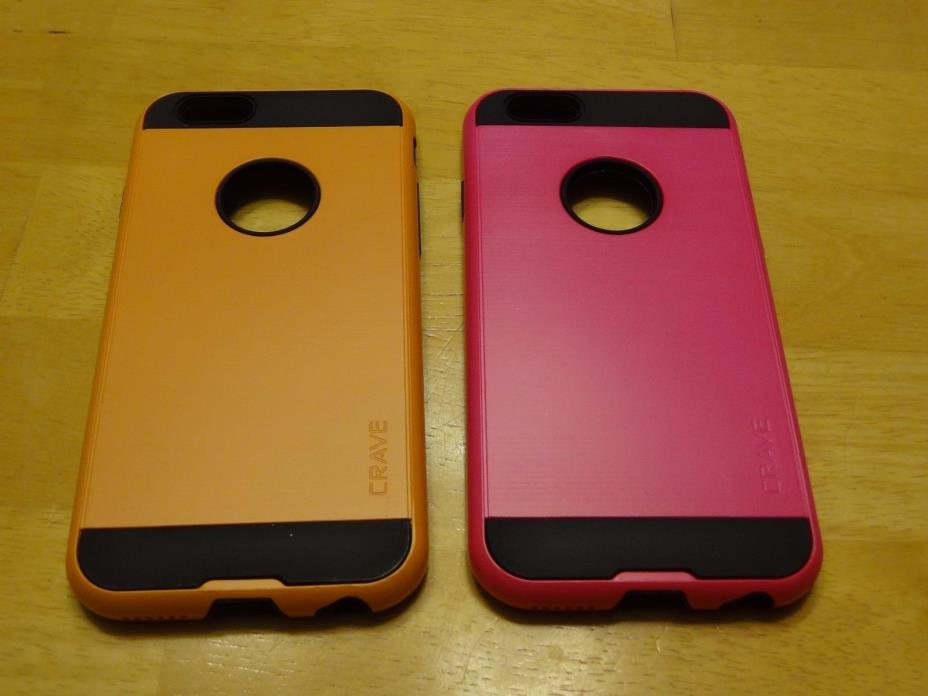 Lot Of (2) Iphone 6 / 6s Strong Guard Cases
