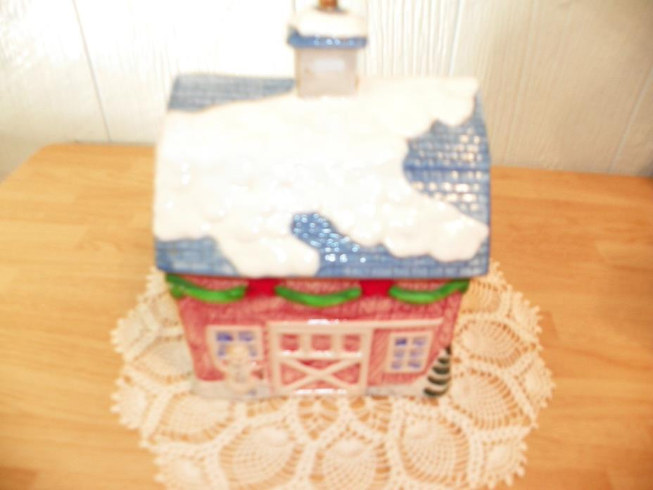The Seasons Collection Christmas Cookie Jar