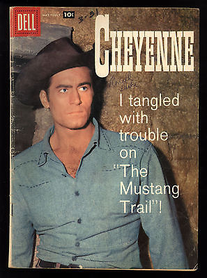 Cheyenne (1956) #7 1st Print Clint Walker TV Photo Cover Great Tom Gill Art VG-