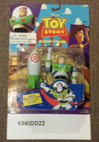 THINKWAY TOYS--DISNEY'S TOY STORY--BOXER BUZZ LIGHTYEAR FIGURE (NEW)