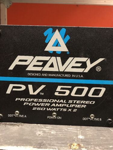Peavey PV 500 Stereo Power Amplifier